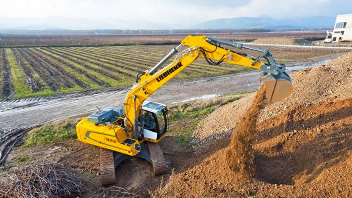 New Liebherr Crawler Excavator R922